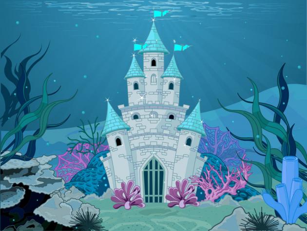 Подводный замок