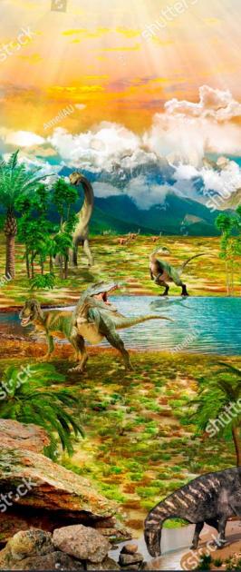Динозавры на поляне