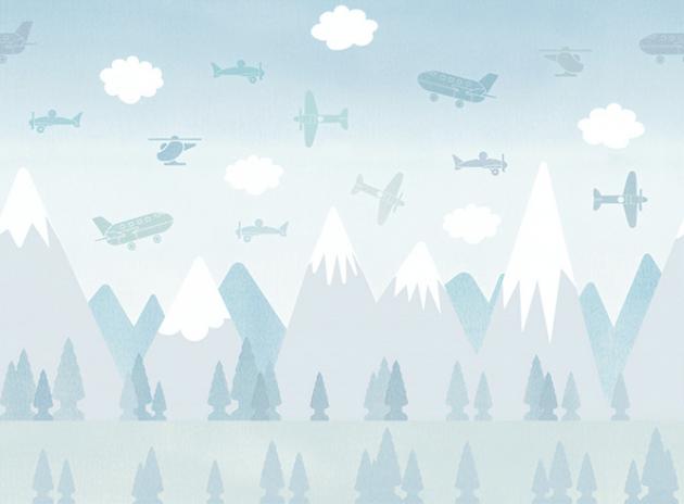 Голубой самолет