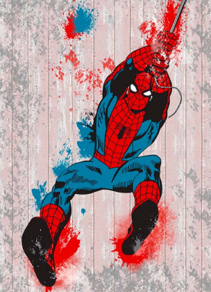 Человек паук 3D 196х270 Флора