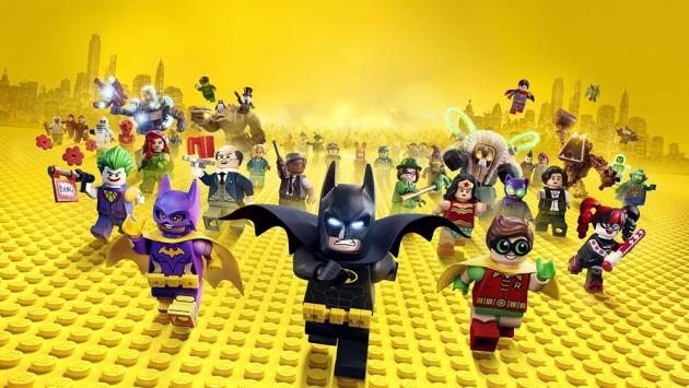 Супергерои лего