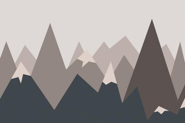 Коричневые горы