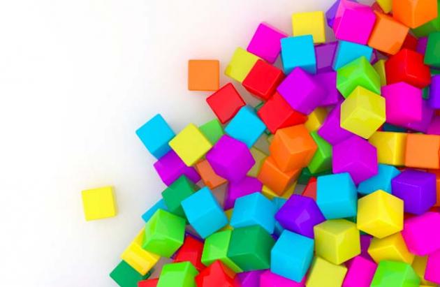 3Д кубы
