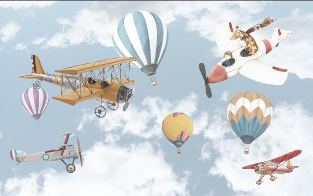 Самолеты и воздушные шары
