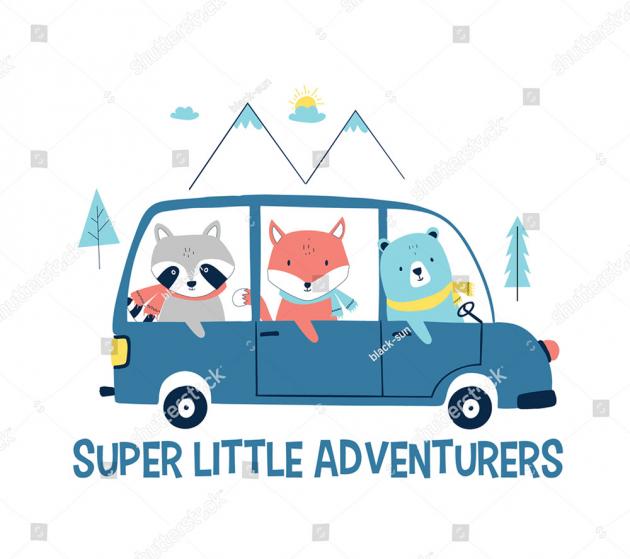 Животные в машине