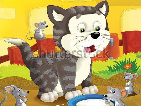 Кот и мышки
