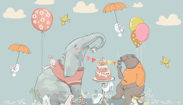 День рожденье Слона