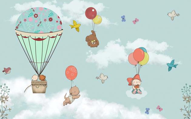 Животные на воздушных шарах