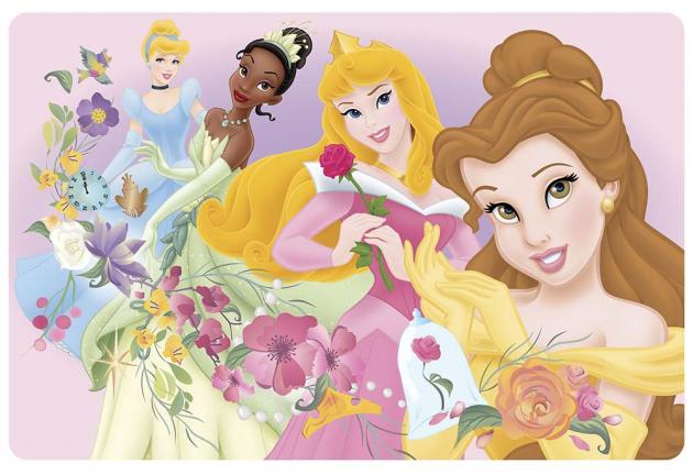Принцессы из мультфильма