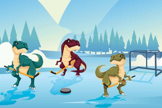 Динозавры хоккеисты