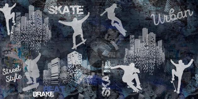 Граффити скейт