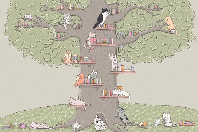 Животные на дереве