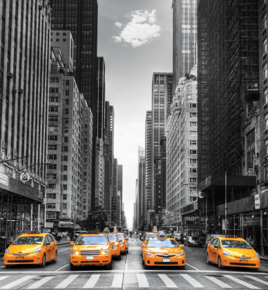 Такси Нью-Йорка 240х260 Глянец