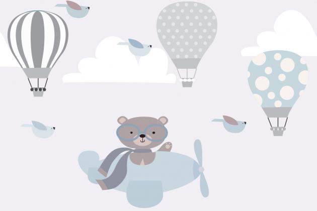 Медведь в вертолете