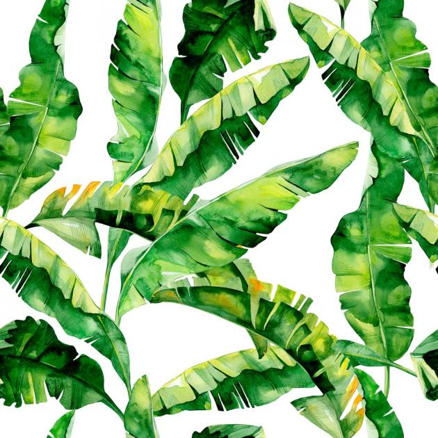Паттерн банановых листьев
