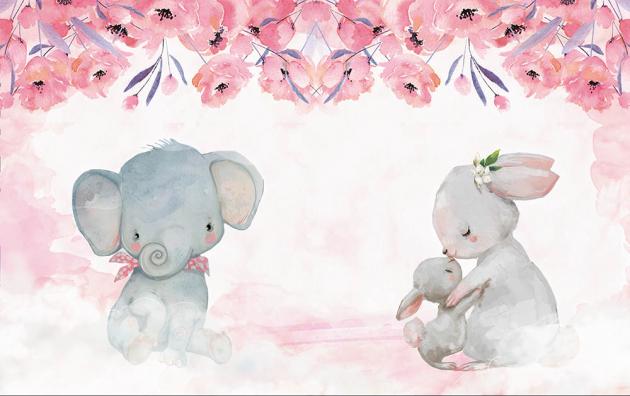 Зайцы и слоник
