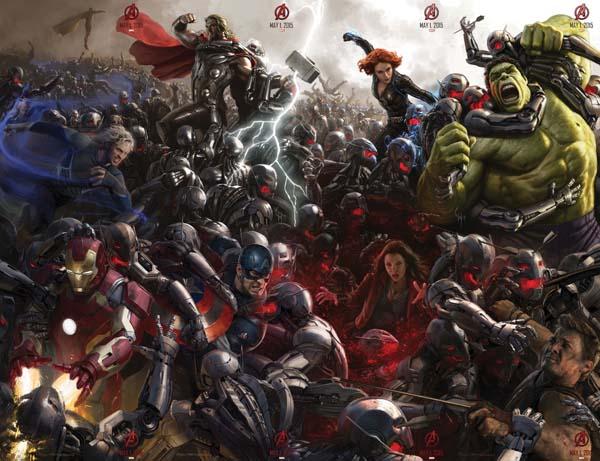 Битва Мстители