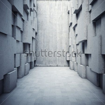 Корридор из кубов