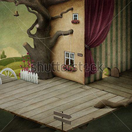 Комната на дереве