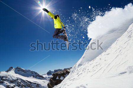 Сноубордист
