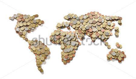 Карта из монет