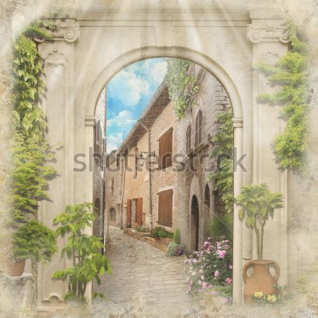 Винтажная арка