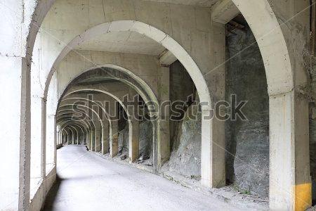 Туннель с арками