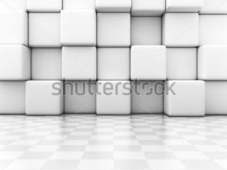 Белые кубы