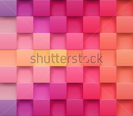 Розовые кубы