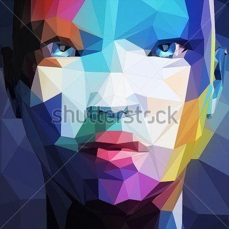 Абстрактный портрет