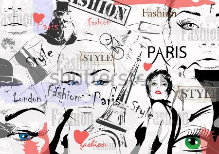 Коллаж мода